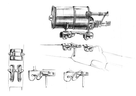 Mira telesc Modelo 1