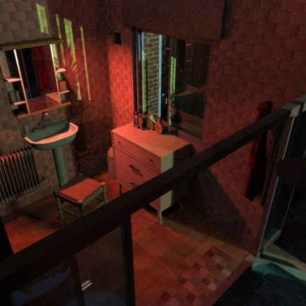 SketchUp render-- Bathroom